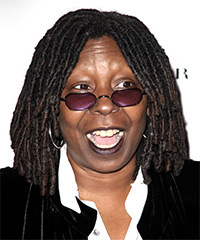 Whoopi Goldberg Hairstyle - click to view hairstyle information