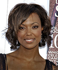 Aisha Tyler Hairstyle - click to view hairstyle information