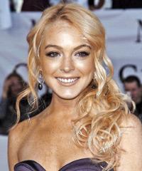 Lindsay Lohan - Curly