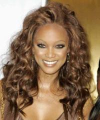 Tyra Banks - Curly