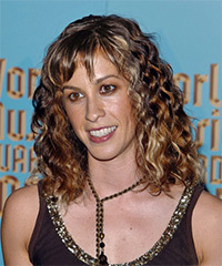 Alanis Morissette Hairstyle - click to view hairstyle information