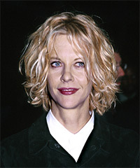 Ryan Hair Styles on Meg Ryan Hairstyle Medium Wavy Casual Hairstyle