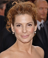Sandra Bullock - Updo Long Curly