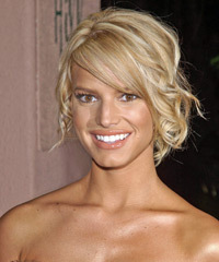 Jessica Simpson - Updo Medium Curly