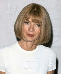 Anna Wintour Hairstyle - click to view hairstyle information