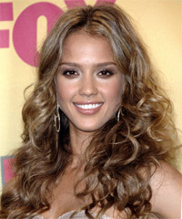 Jessica Alba - Long Curly