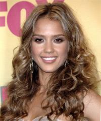 Jessica Alba - Curly