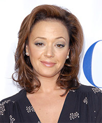 Leah Remini Hairstyle - click to view hairstyle information