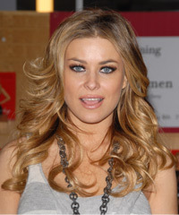 Carmen Electra Hairstyle - click to view hairstyle information