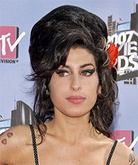 Amy Winehouse Hairstyle - click to view hairstyle information