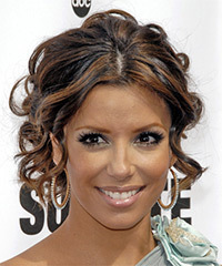 Eva Longoria Parker - Updo Long Curly
