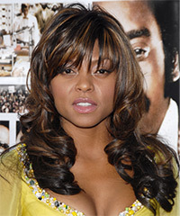 Taraji P. Henson Long Wavy Formal