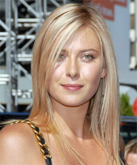Maria Sharapova Hairstyle - click to view hairstyle information