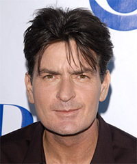 Charlie Sheen Hairstyle - click to view hairstyle information