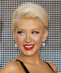 Christina Aguilera - Updo Long Straight