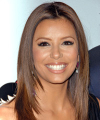 Eva Longoria's Layered Medium Length hairstyle