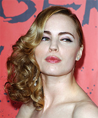 Melissa George Half Up Long Curly Formal