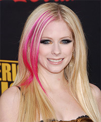 Avril Lavigne Hairstyle - click to view hairstyle information