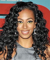 Solange-Knowles - Long Curly