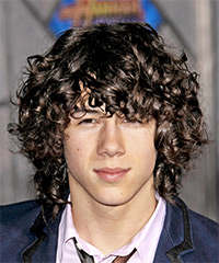 Nick Jonas - Curly