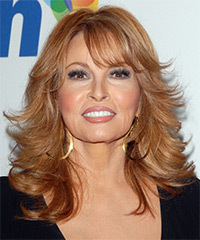 Raquel Welch Hairstyle - click to view hairstyle information
