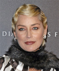 Sharon Stone - Short Wavy