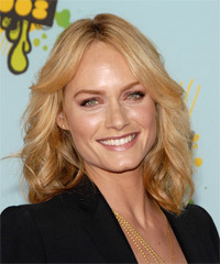 Amber Valletta Hairstyle - click to view hairstyle information