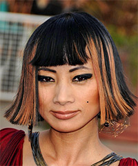Bai Ling Hairstyle - click to view hairstyle information