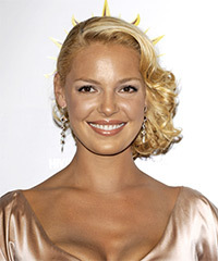 Katherine Heigl - Updo Medium Curly