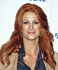Angie Everhart Hairstyle - click to view hairstyle information