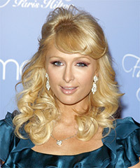 Paris Hilton - Half Up Long Curly