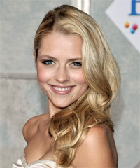 Teresa Palmer - Half Up Long Curly