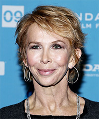 Trudie Styler Hairstyle - click to view hairstyle information