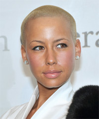 Amber Rose Hairstyle - click to view hairstyle information