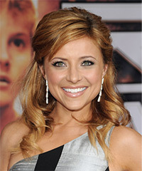 Christine Lakin - Half Up Long Curly