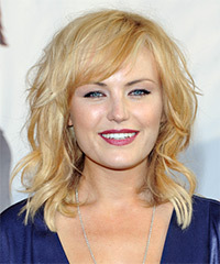 Malin Akerman. Hairstyle