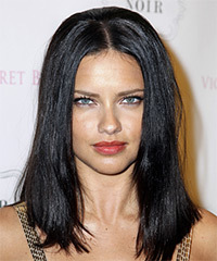 Adriana Lima Hairstyle - click to view hairstyle information