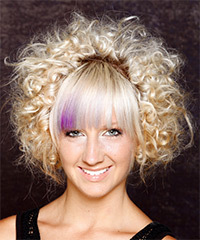 Alternative Short Curly Hairstyle - click to view hairstyle information