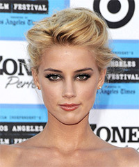 Amber Heard - Updo Medium