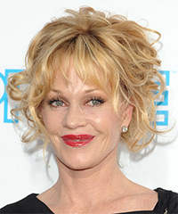 Melanie Griffith - Updo Medium Curly