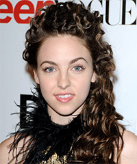 Brittany Curran - Half Up Long Curly
