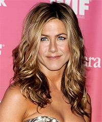 Jennifer Aniston Long Wavy Casual