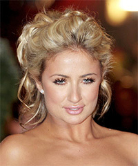 Chantelle Houghton - Updo Medium Curly