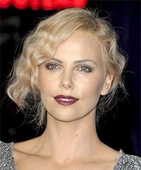 Charlize Theron - Updo Medium Curly