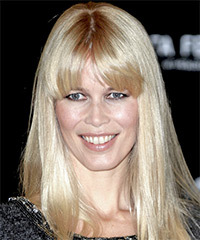 Claudia Schiffer Hairstyle - click to view hairstyle information