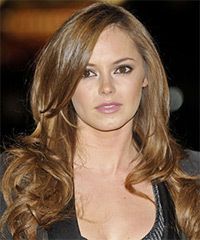 Hannah Tointon  Hairstyle - click to view hairstyle information