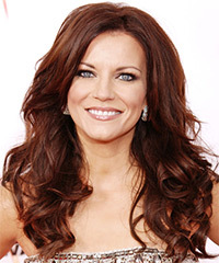 Martina McBride Long Wavy Casual