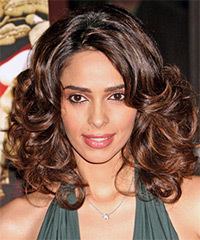 Milika Sherawat - Medium Curly