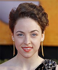 Brittany Curran  - Updo Long Curly