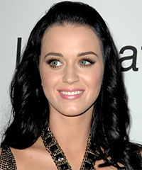 Katy Perry - Half Up Long Curly